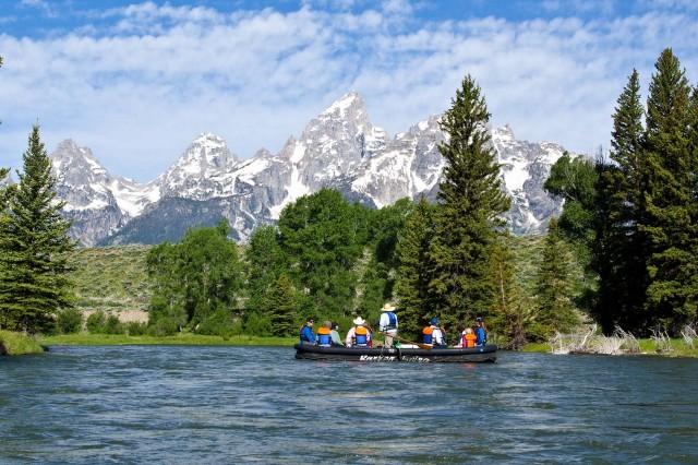 Scenic Float Trip In Jackson Hole Amp Grand Teton National Park