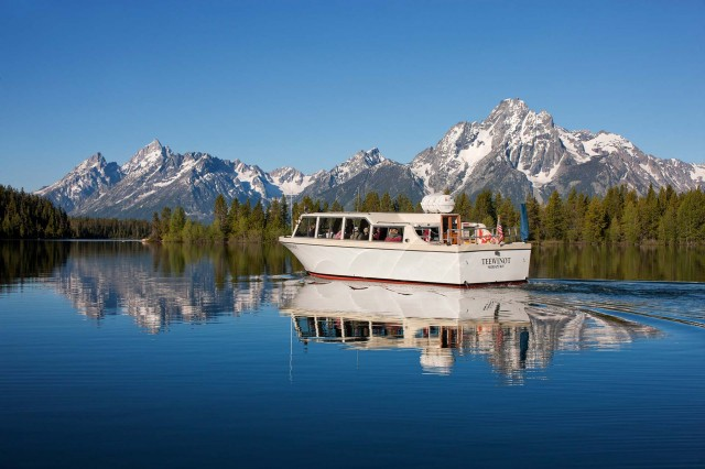 3 Meals While Cruising Floating Or Riding In Grand Teton