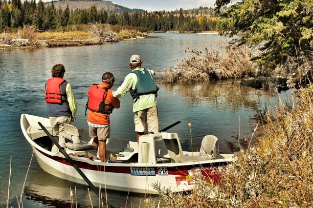 Meet jackson hole fly fishing guides jackson hole traveler for Jackson hole fly fishing