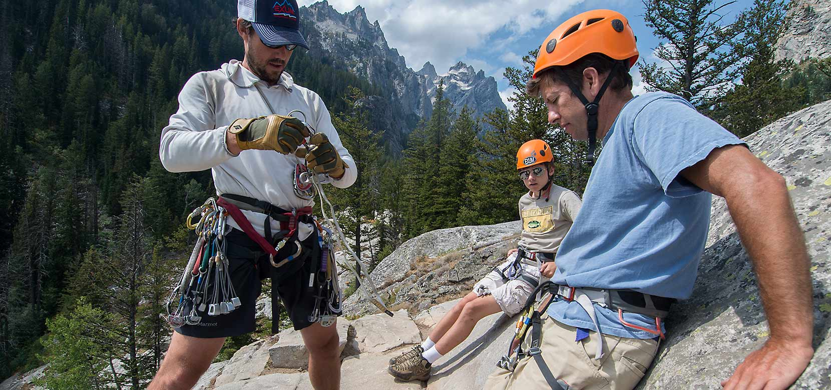 Mountain Sports in Grand Teton National Park