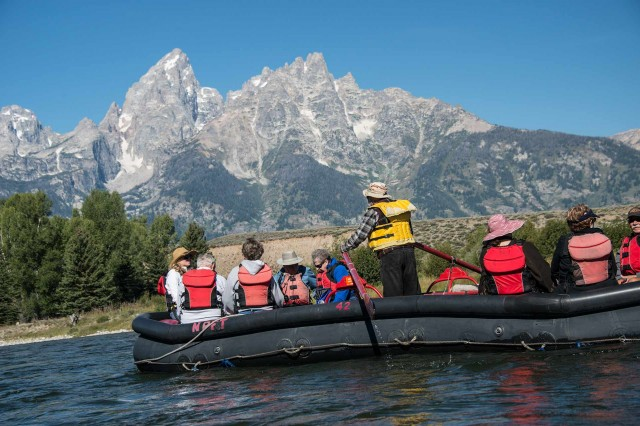 Get on the water in grand teton national park jackson for What to do jackson hole