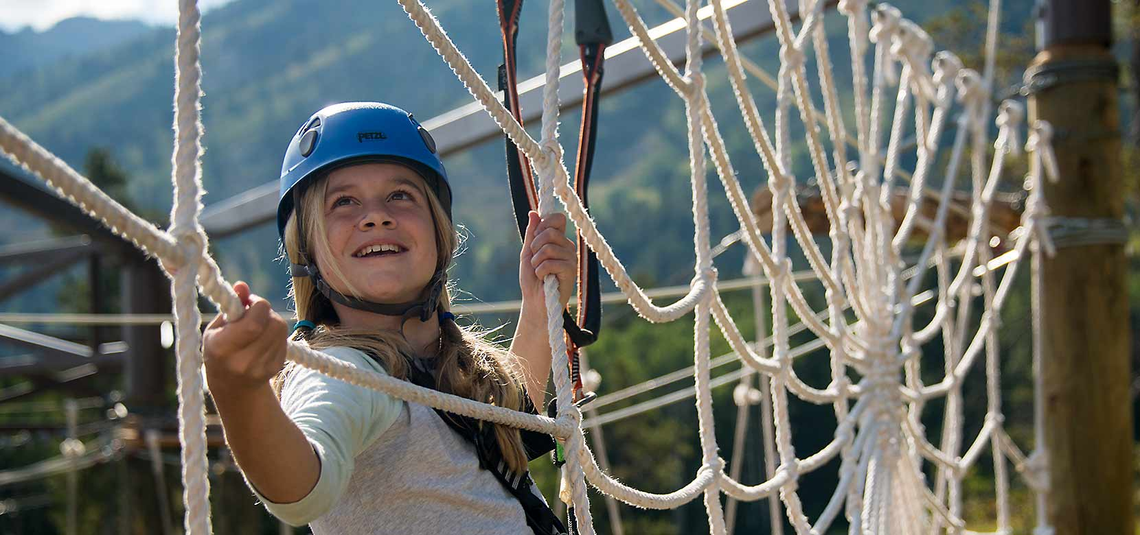 Ropes course at Jackson Hole Mountain Resort