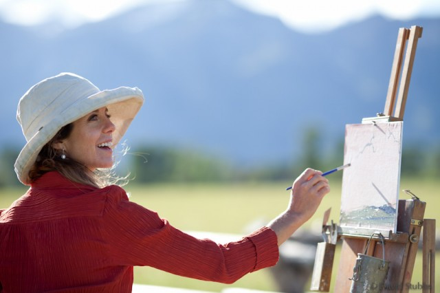 The Artist Kathryn Mapes Turner Jackson Hole Traveler