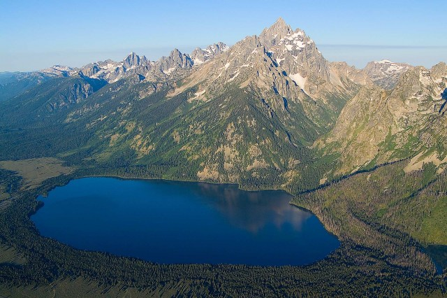 Jenny Lake, Grand Teton National Park [OC][3872x2592 ... |Jenny Lake Grand Teton National Park