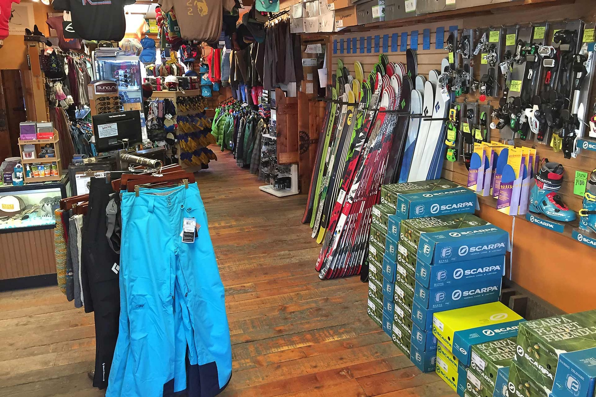 Ski Shop The Back Country